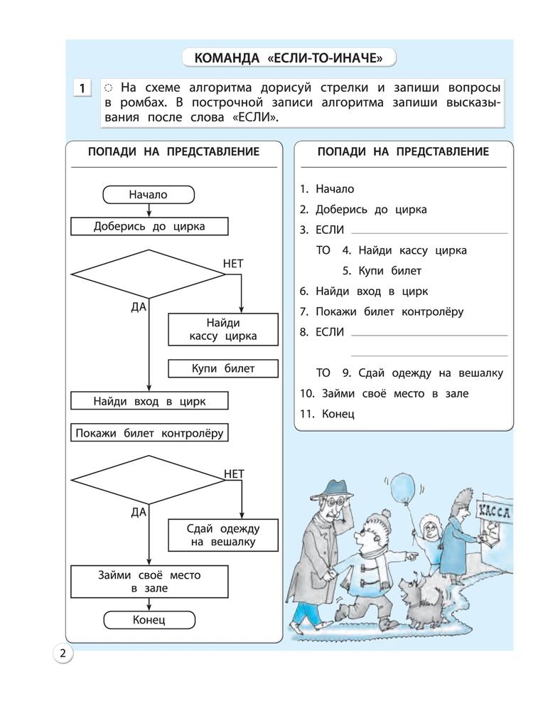 Информатика з класс готовые домашние задания горячев для учителей