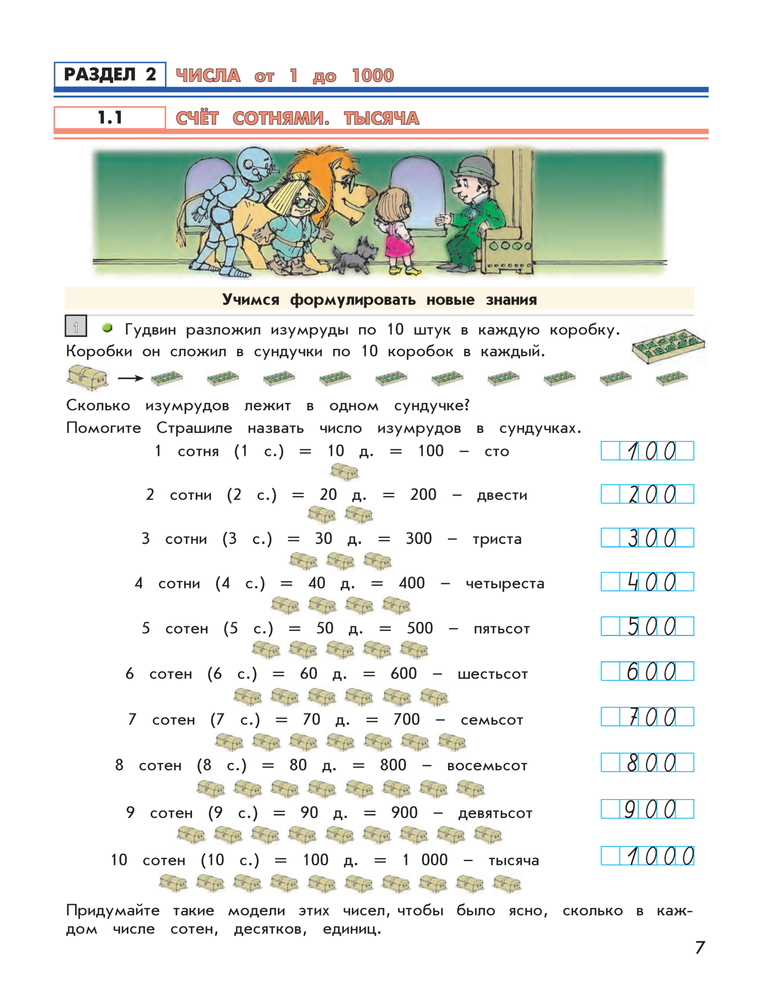Единицы массы центнер 3 класс школа 2100 демидова